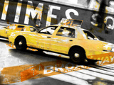 Times Square Taxi Photographic Print by  GI ArtLab