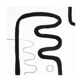 Black and White K Impression giclée par Franka Palek