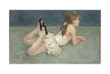Little Ballerina Giclee Print by Alicia Grau