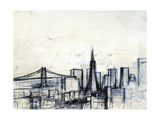 Today in San Francisco Giclee Print by Checo Diego