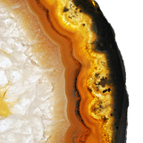 Gamboge Agate A Photographic Print