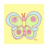 Butterfly, Butterfly Giclee Print by Soraya Chemaly