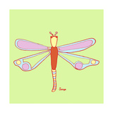 Dragonfly, Dragonfly Giclee Print by Soraya Chemaly