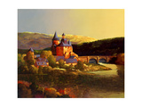 Sunset at Collonges La Rouge Giclee Print by Max Hayslette