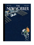 Free Delivery - The New Yorker Cover, June 2, 2014 Premium Giclee Print by Bruce McCall