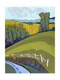Sharp Curve Giclee Print by Don Tiller