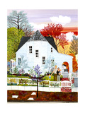 And So it Was Giclee Print by Kristin Nelson