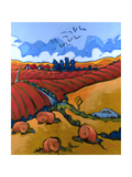 Country Drive Giclee Print by Don Tiller