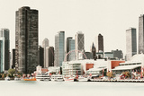 Chicago Waterfront A Photographic Print