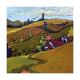 Four Right Giclee Print by Don Tiller