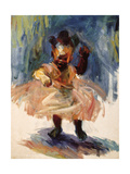 Dancing Queen Giclee Print by Edosa Oguigo