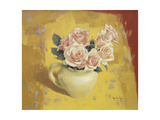 Still Life with White Giclee Print by Sang-Duk Park