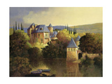 Boathouse on the Dordogne Prints by Max Hayslette
