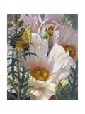 Prickly Poppies and Yellowtails Giclee Print by Elizabeth Horning