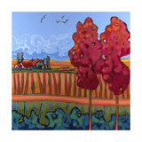 October Air Giclee Print by Don Tiller