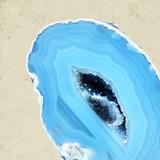 Cerulean Blue Agate B Photographic Print