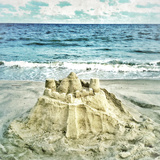 Sandcastle Photographic Print by Mimi Payne
