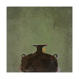 Green Vase Print by Susan Gillette