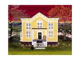 House of Breslin 2 Giclee Print by Kristin Nelson