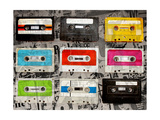 Cassettes Giclee Print