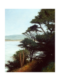 Carmel Bay Giclee Print by Miguel Dominguez