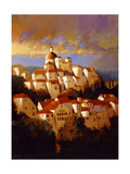 Le Village Anciens Giclee Print by Max Hayslette