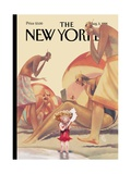 The New Yorker Cover - August 3, 1998 Premium Giclee Print by Carter Goodrich