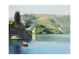 Lake Como Giclee Print by Jane Gibout