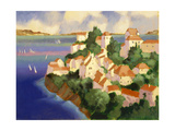 Seaside Village IV Giclee Print by Max Hayslette