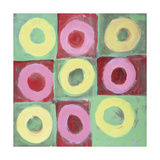 Nine Circles Giclee Print by Lee Crew
