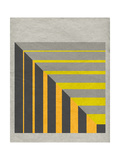 Linen Geometrics G Giclee Print