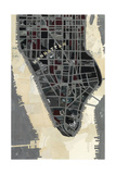 Manhattan Giclee Print by Milton Coppo