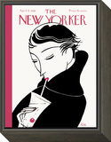 The New Yorker Cover - April 17, 1926 Framed Print Mount by Clayton Knight
