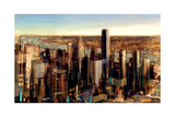 Newyork City Twilight Giclee Print by Christopher Farrell