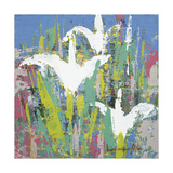Pop Flower A-18 Giclee Print by Myung-Sik Kim