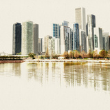 Chicago Waterfront B Photographic Print