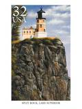 Split Rock Prints by  USPS