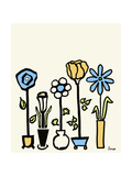 Standing Vases 4 Giclee Print by Soraya Chemaly