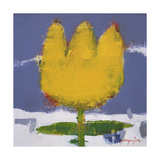 Pop Flower Series 4 Giclee Print by Myung-Sik Kim