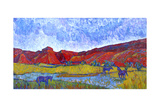The Hole in the Wall, WY Giclee Print by K.L. McKenna