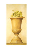 Green Apples in Vase Giclee Print by Hampton Hall