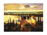 Chateau on the Loire Giclee Print by Max Hayslette