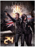 24 - Live Another Day Poster Masterprint