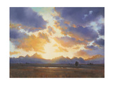Evening Color Giclee Print by David Marty