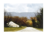 A Drive Through Fall Giclee Print by Miguel Dominguez