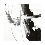 Black and White H Premium Giclée-tryk af Franka Palek