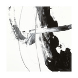 Black and White H Giclee Print by Franka Palek
