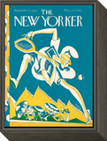 The New Yorker Cover - September 5, 1925 Framed Print Mount by James Daugherty