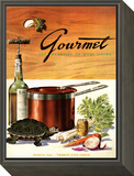 Gourmet Cover - March 1941 Framed Print Mount by Henry Stahlhut