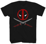 Deadpool - Crossbones Tシャツ